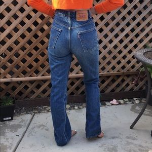 Vintage Levi's denim women's jeans